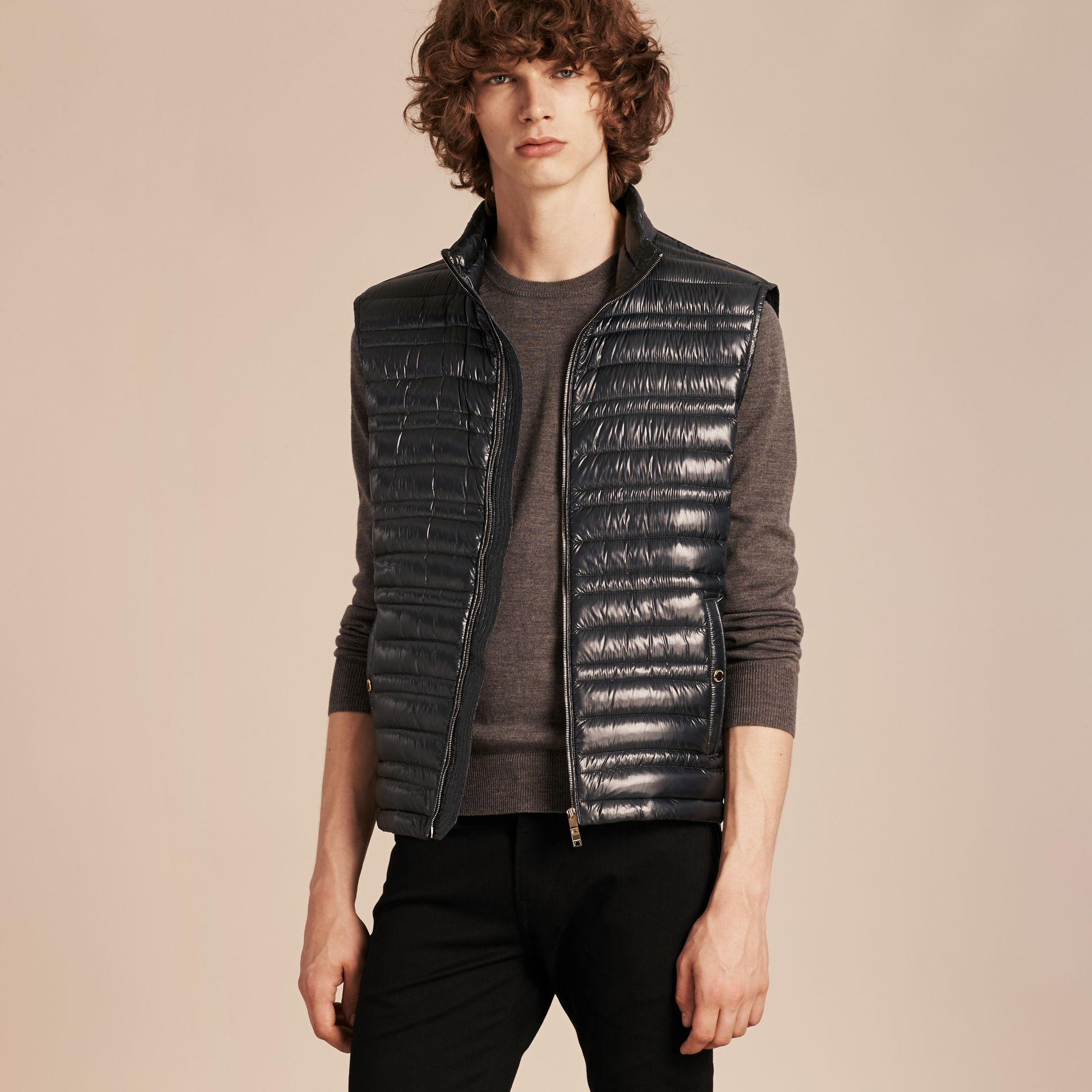 Lightweight Down-filled Gilet - Men | Burberry - gallery image 7