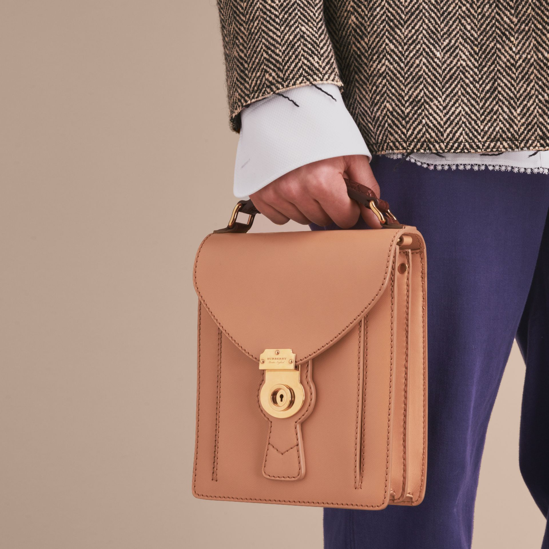 The Small DK88 Satchel with Alligator - gallery image 4