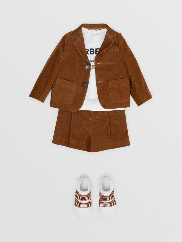 Corduroy Blazer in Camel | Burberry - cell image 2