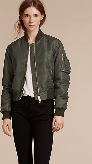 Padded Technical Bomber Jacket