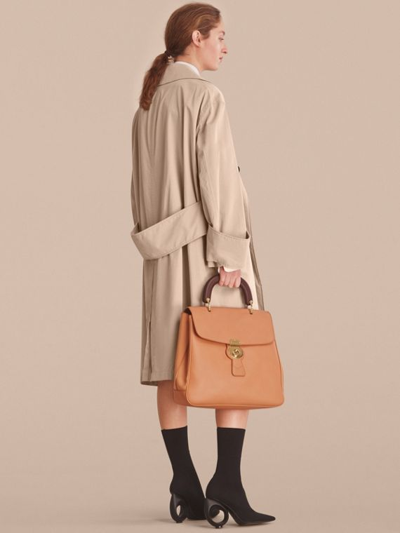 Unisex Tropical Gabardine Car Coat with Exaggerated Cuffs - cell image 3