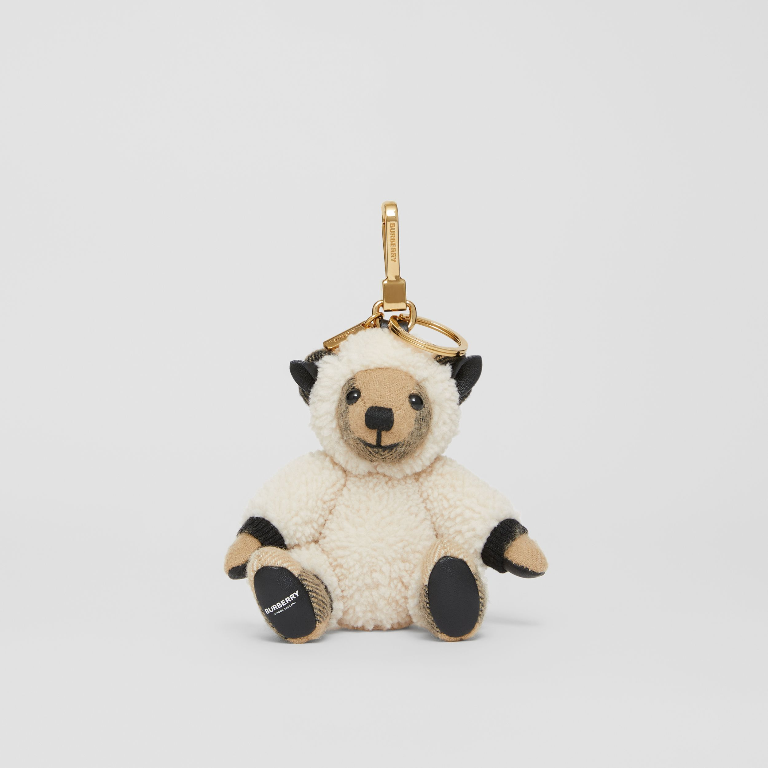 Thomas Bear Charm in Sheep Costume in Archive Beige | Burberry - 3