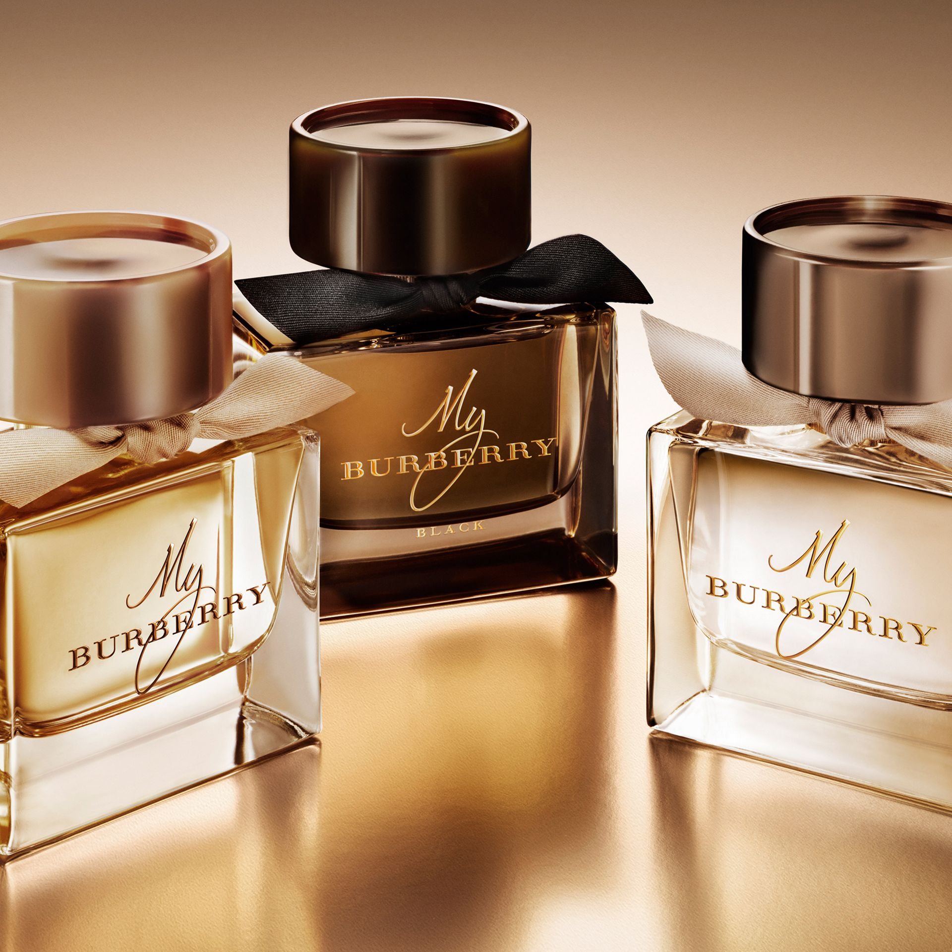 My Burberry Eau de Parfum Collector's Edition 900ml in Honey Trench - Women | Burberry - gallery image 3