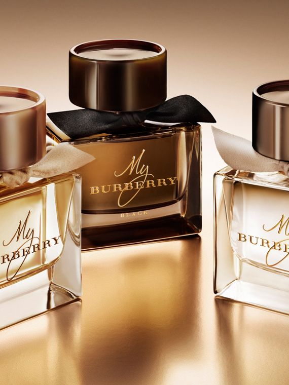 My Burberry Eau de Parfum Collector's Edition 900ml in Honey Trench - Women | Burberry United Kingdom - cell image 2