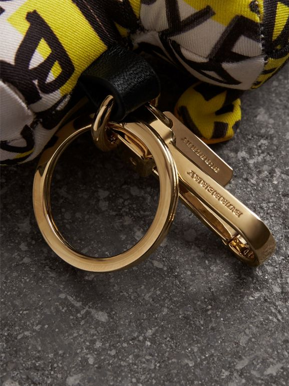 Wendy The Sheep Graffiti Print Cotton Charm in Yellow | Burberry United States - cell image 1