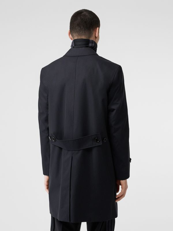 Cotton Gabardine Car Coat in Midnight Navy - Men | Burberry - cell image 2