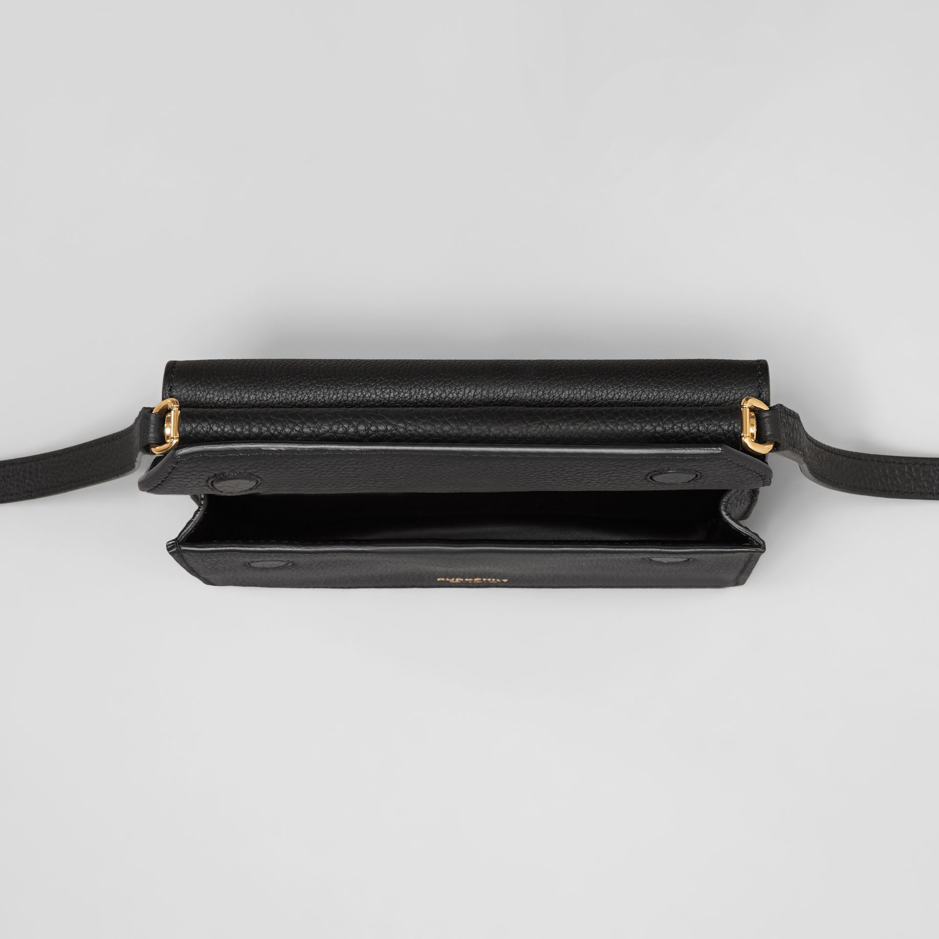 Mini Leather Title Bag in Black - Women | Burberry Hong Kong S.A.R. - gallery image 4