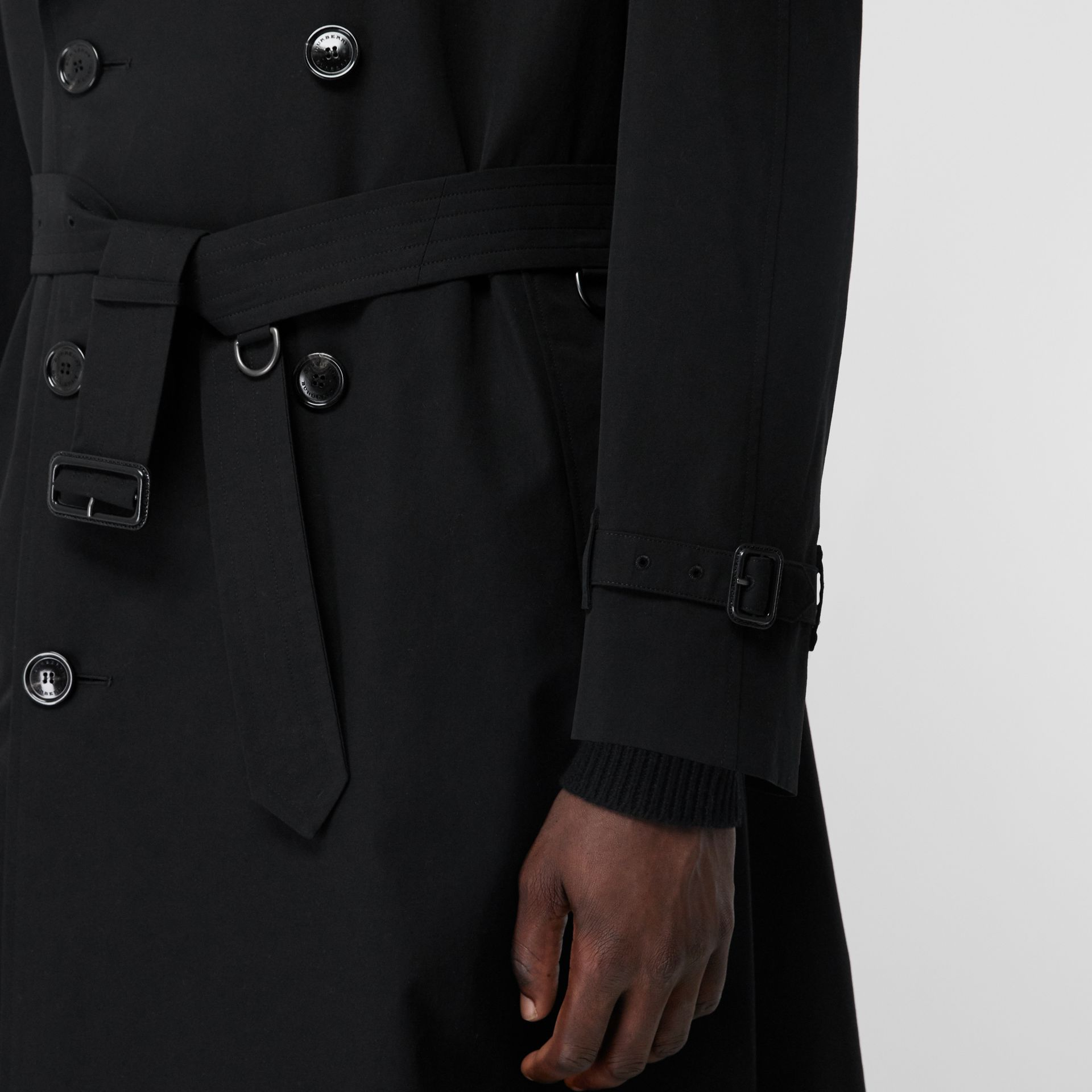The Westminster Heritage Trench Coat in Black - Men | Burberry United States - gallery image 5