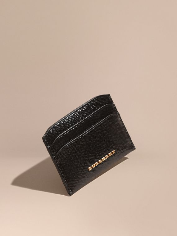 Patent London Leather Card Case