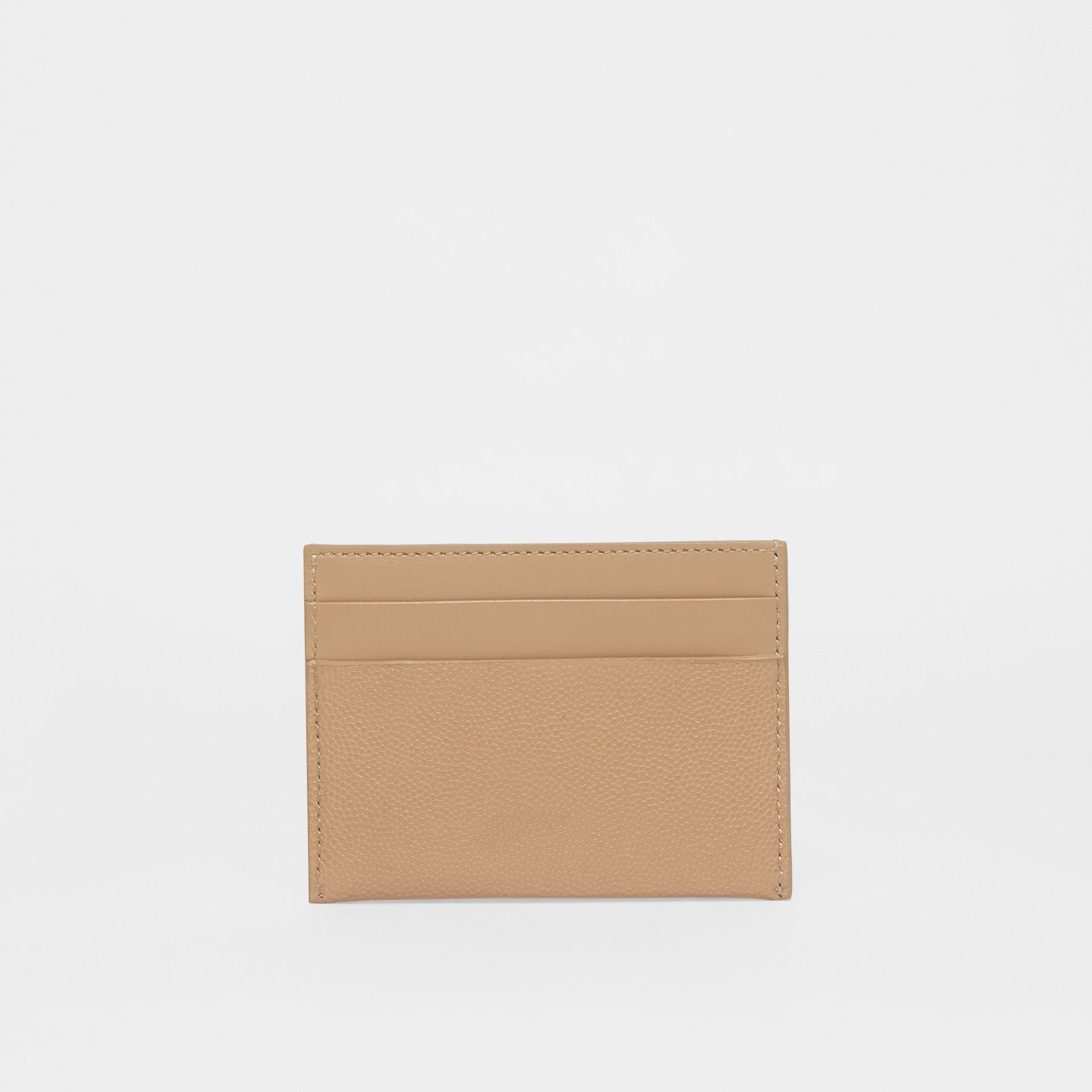 Monogram Motif Leather Card Case in Archive Beige - Women | Burberry - gallery image 3