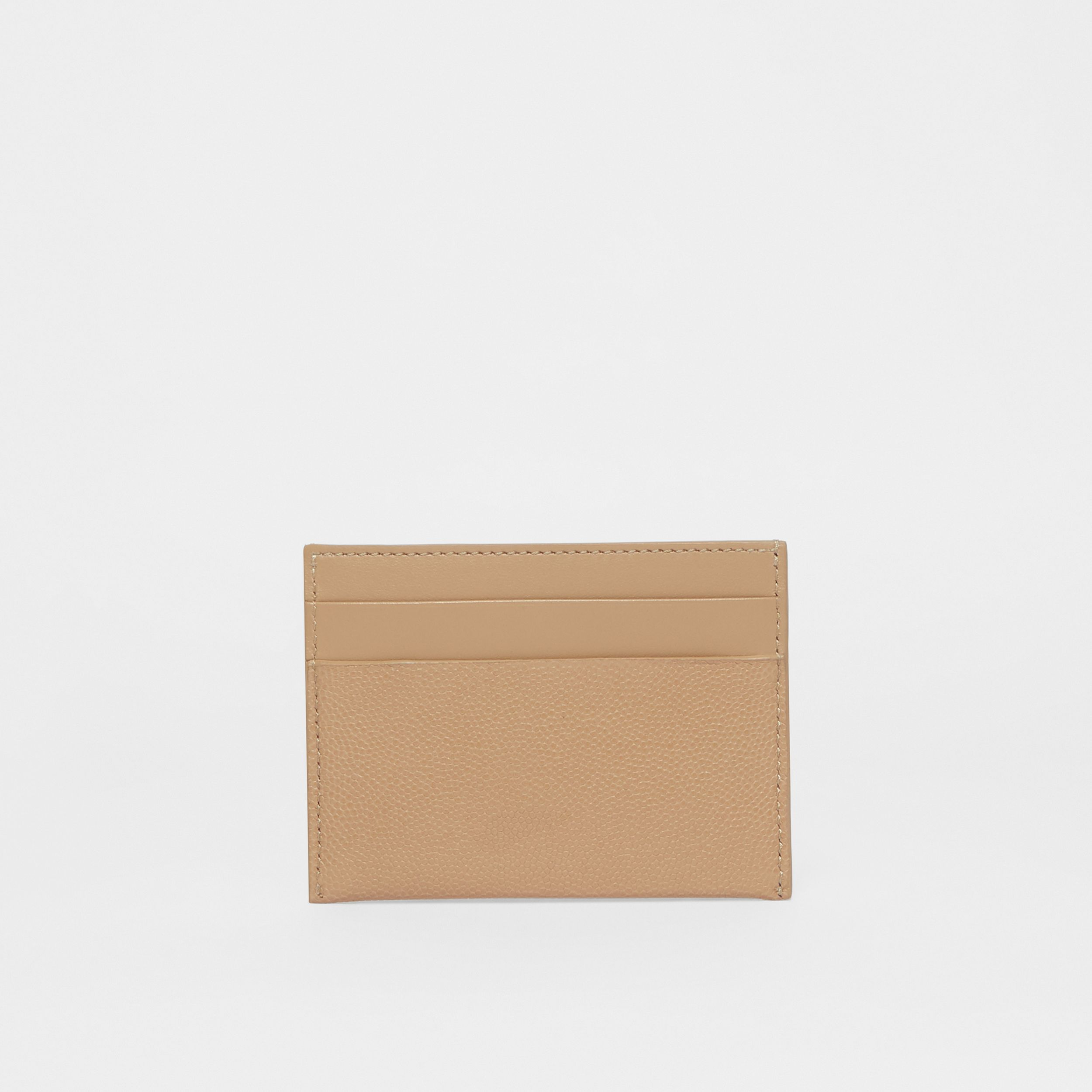 Monogram Motif Leather Card Case in Archive Beige - Women | Burberry Australia - 4