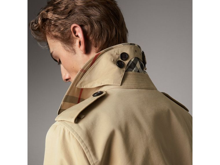 The Sandringham – Long Heritage Trench Coat in Honey - Men | Burberry - cell image 4