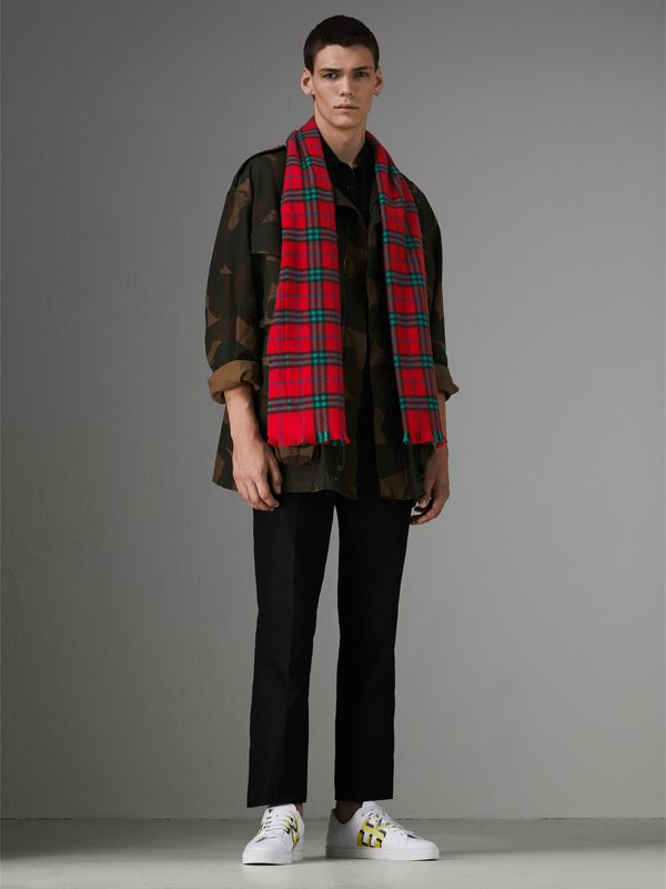Check Cashmere Scarf | Burberry Hong Kong - cell image 2