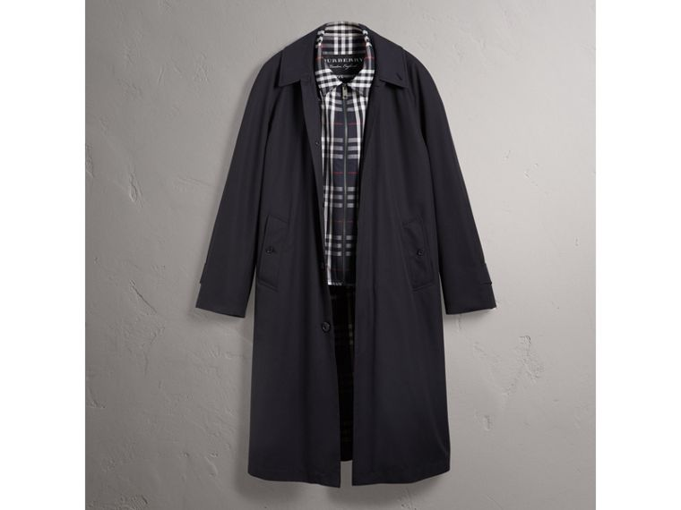 Gosha x Burberry Reconstructed Car Coat in Navy | Burberry - cell image 4