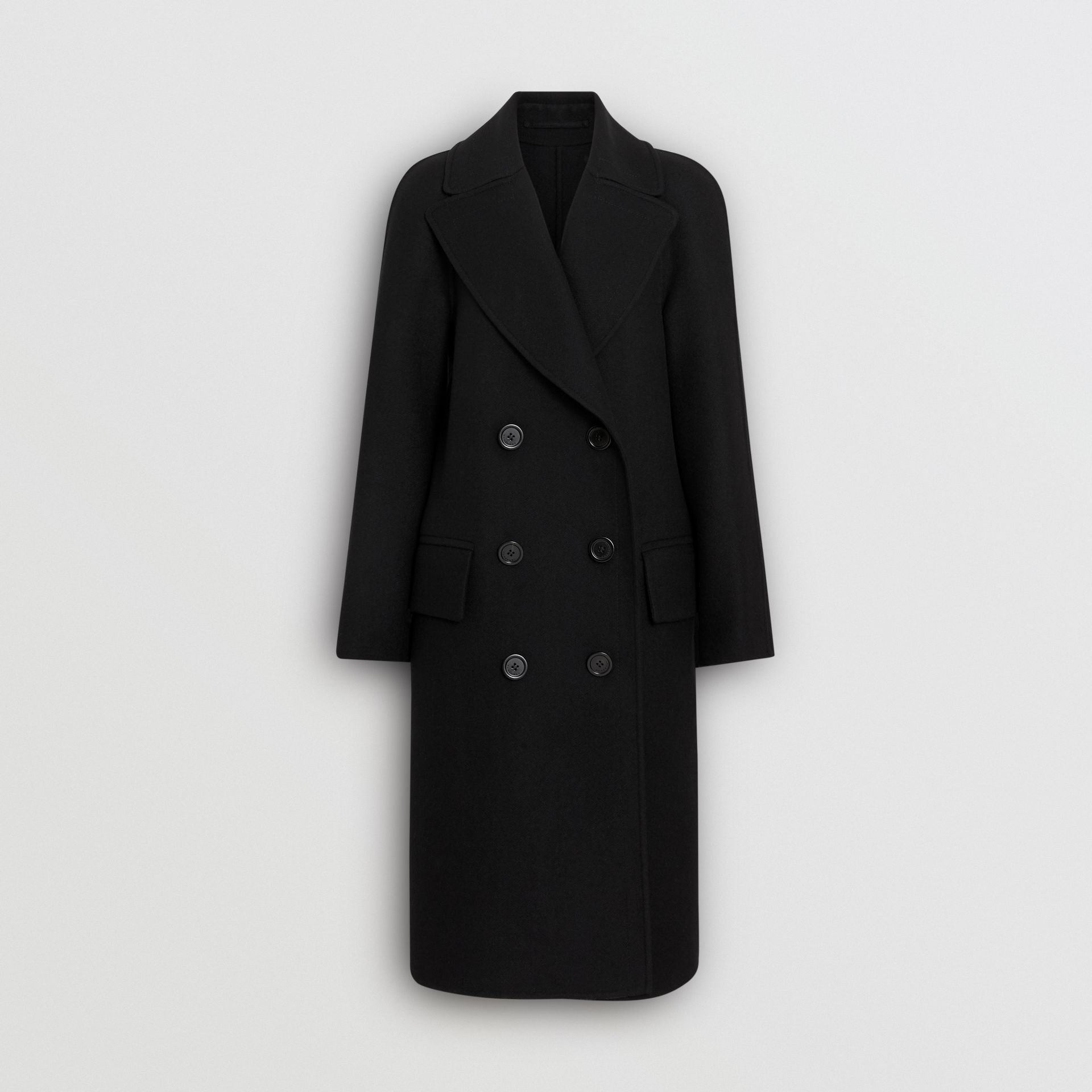 Double-faced Cashmere Tailored Coat in Black - Women | Burberry - gallery image 3