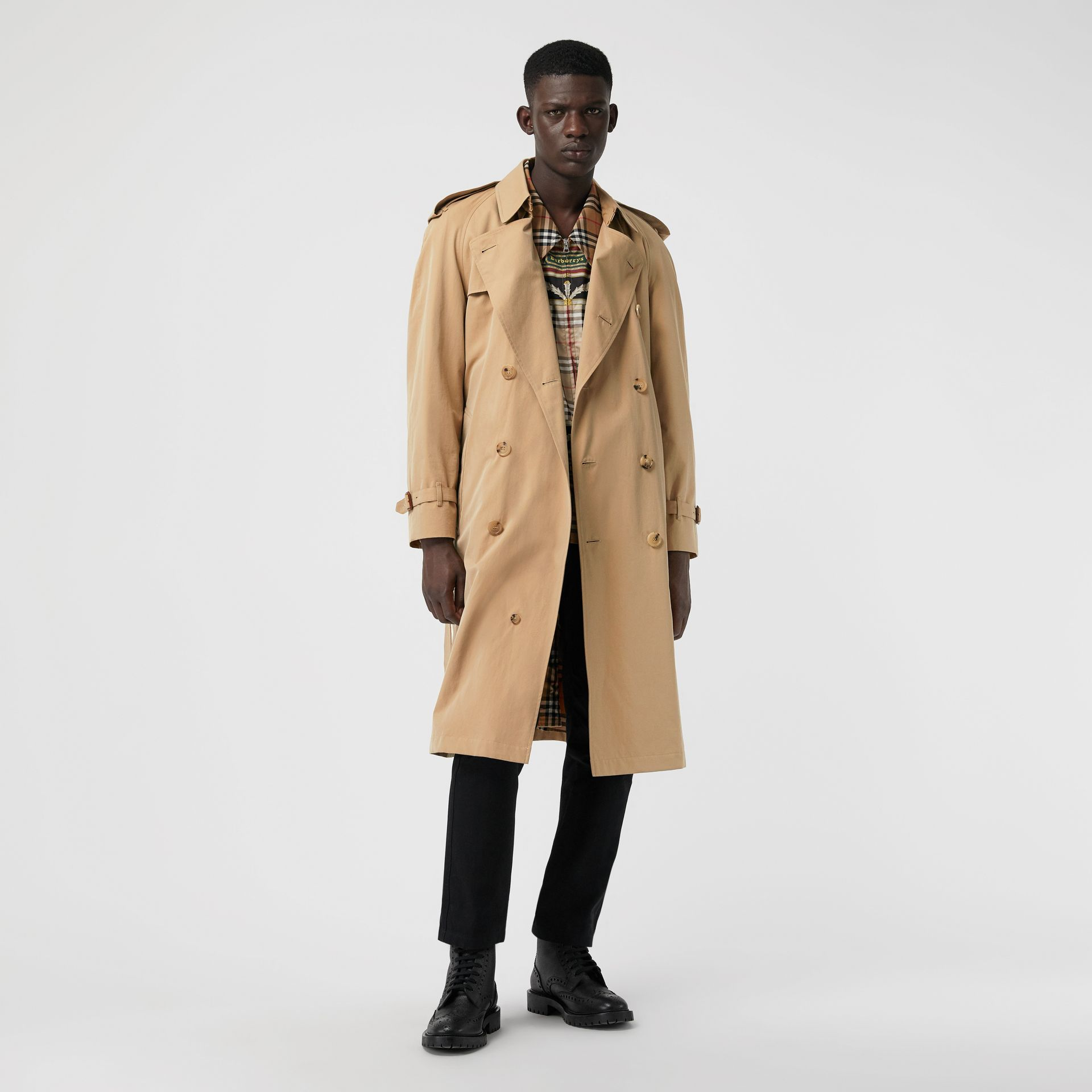Trench coat Heritage The Westminster (Miele) - Uomo | Burberry - immagine della galleria 7