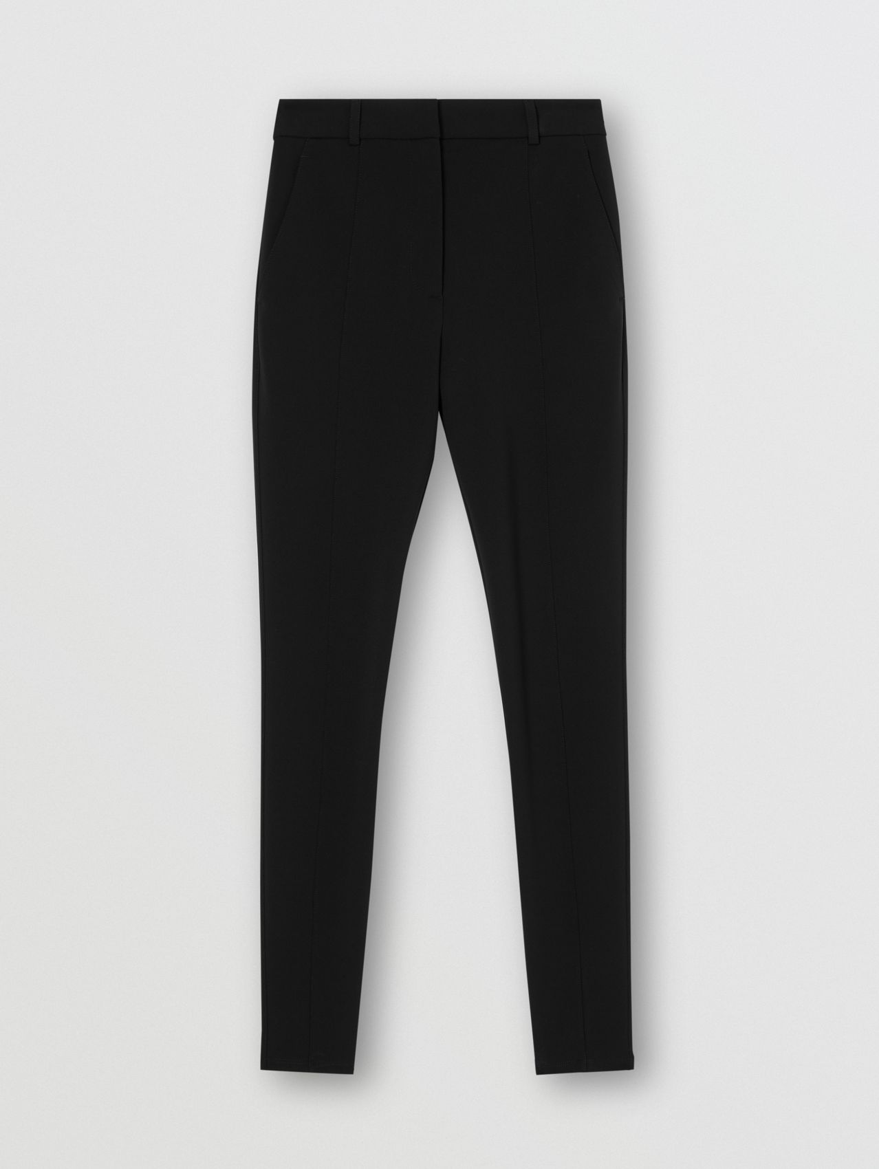 Stretch Jersey Jodhpurs in Black