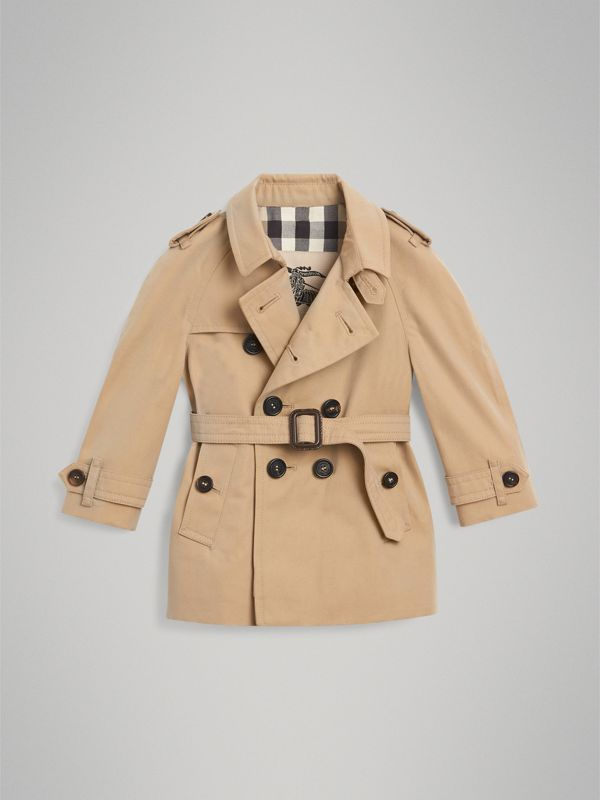 The Wiltshire Trench Coat in Honey - Children | Burberry - cell image 2