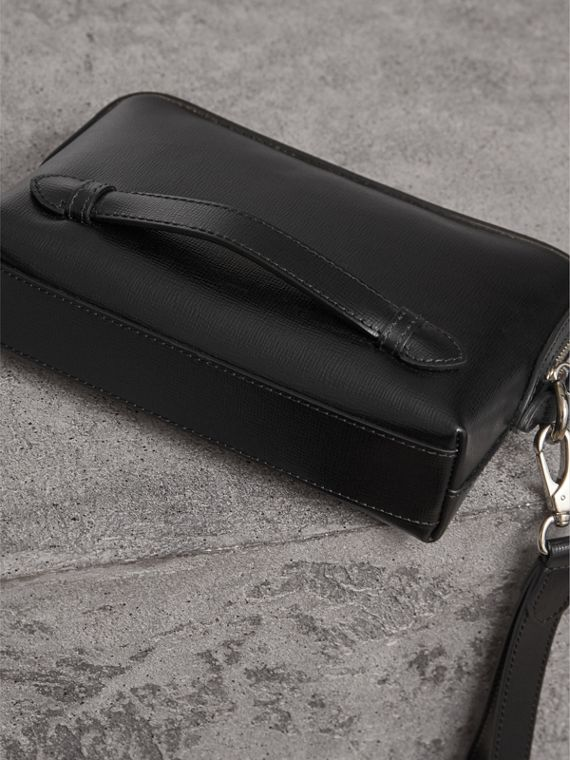 London Leather Pouch in Black - Men | Burberry Hong Kong - cell image 3