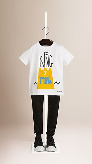 King of the Castle Graphic Cotton T-shirt