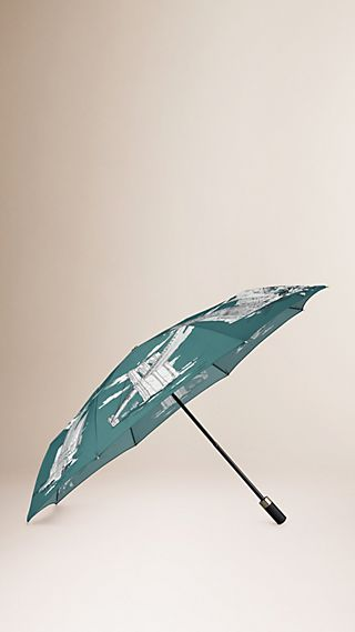 New York Landmarks Folding Umbrella