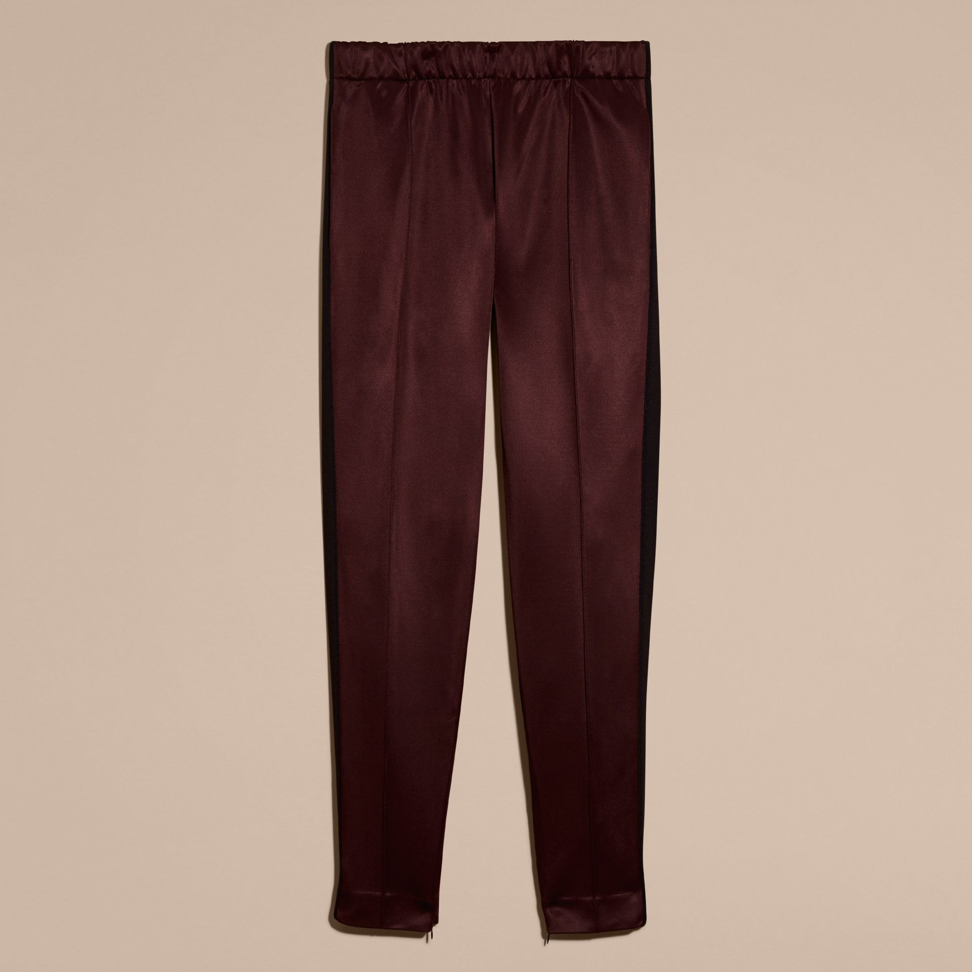 Maroon purple High-shine Track Pants Maroon Purple - gallery image 4