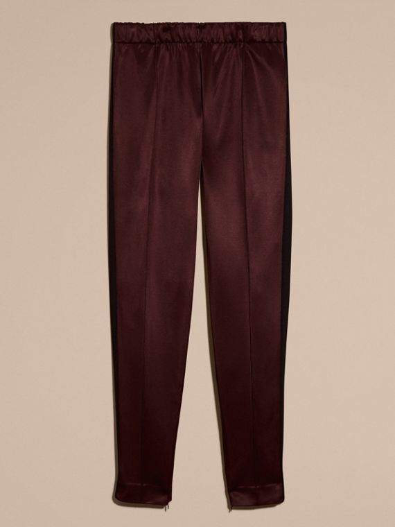 Maroon purple High-shine Track Pants Maroon Purple - cell image 3