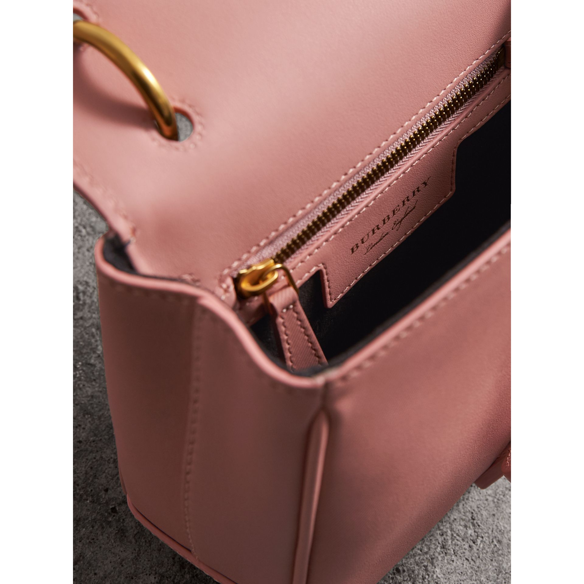 The Small DK88 Top Handle Bag in Ash Rose - Women | Burberry United States - gallery image 5