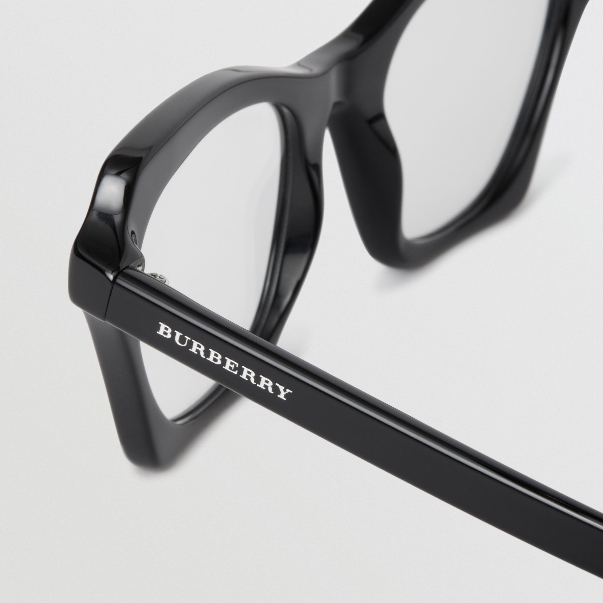 Butterfly Optical Frames in Black - Women | Burberry United Kingdom - 2