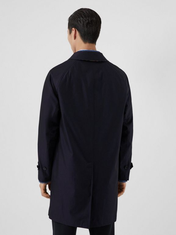 The Camden Car Coat in Blue Carbon - Men | Burberry Australia - cell image 1