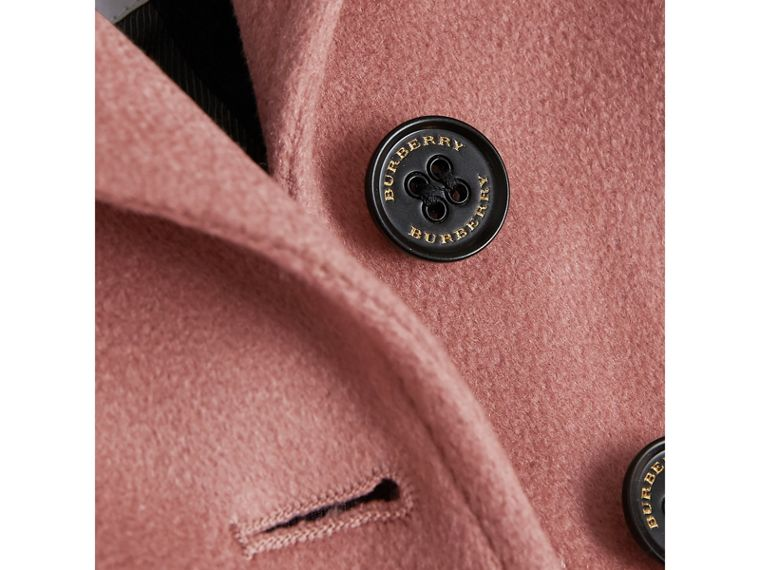 Cashmere Tailored Coat in Antique Rose | Burberry United Kingdom - cell image 1