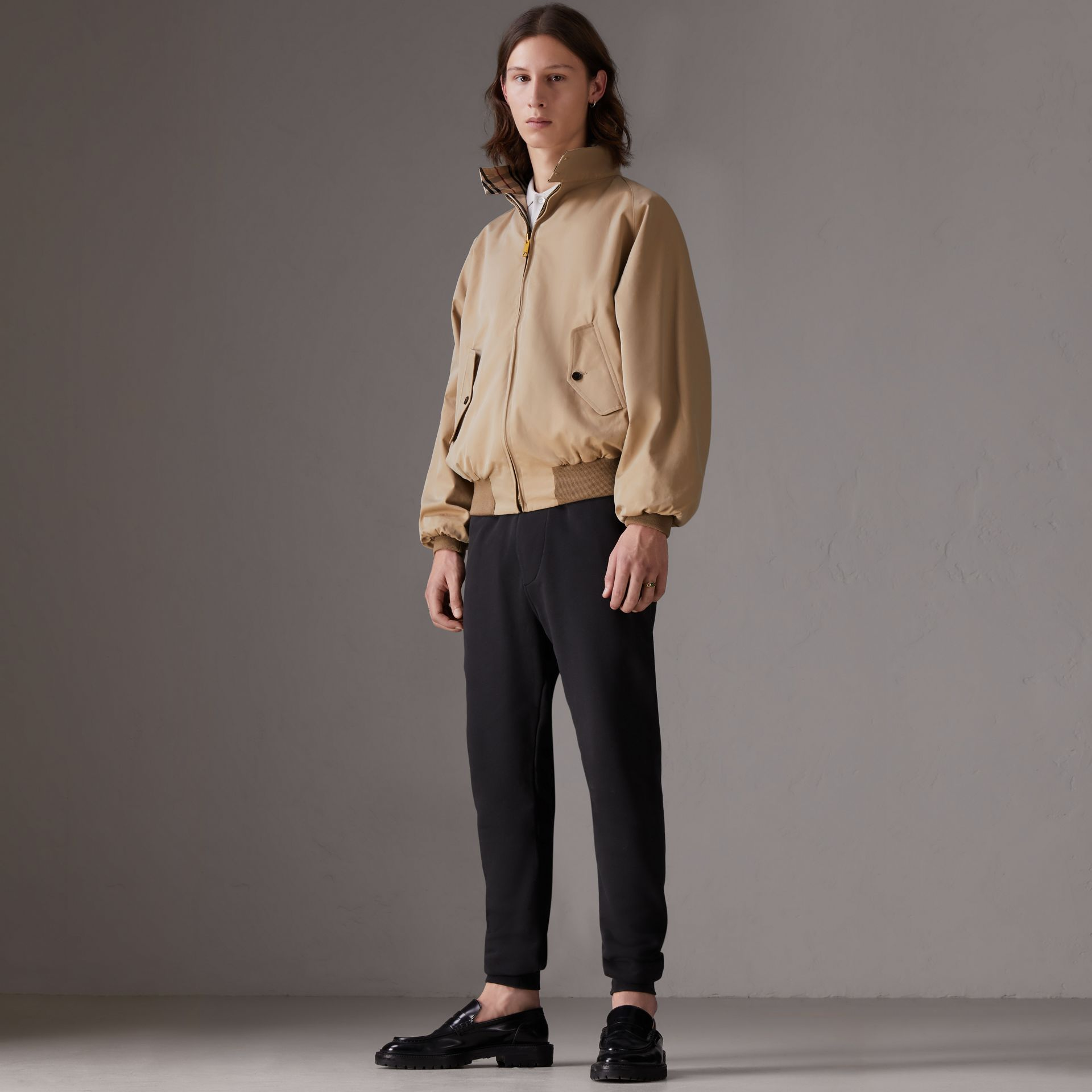 Gosha x Burberry Reversible Harrington Jacket in Honey | Burberry Australia - gallery image 0