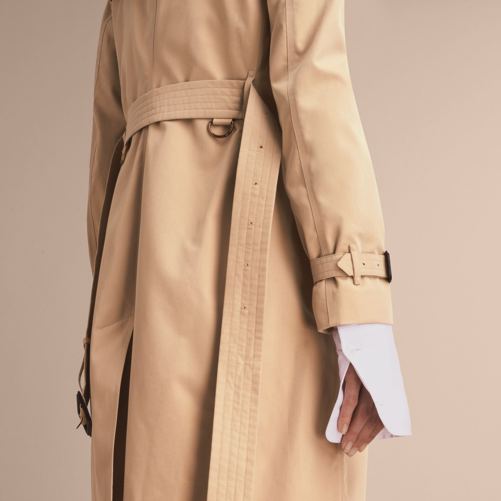 Honey The Kensington – Mid-Length Heritage Trench Coat Honey - gallery image 6