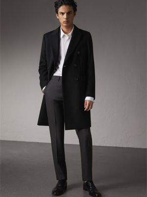 Cashmere Coats for Men | Burberry