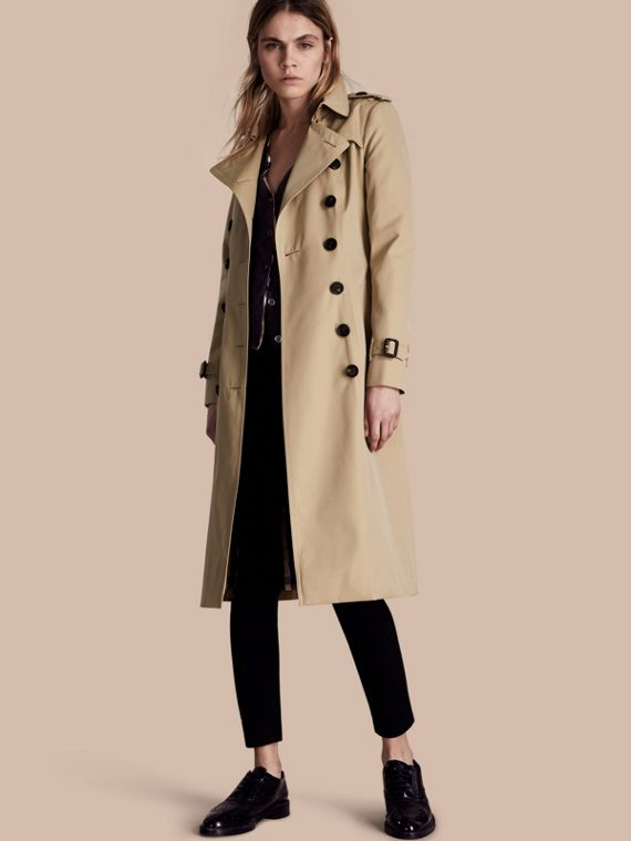 The Chelsea - Trench coat Heritage extra lungo Miele