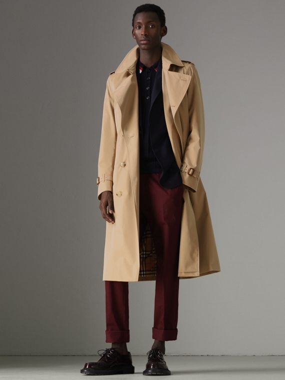 Trench coat Heritage Kensington largo (Miel)