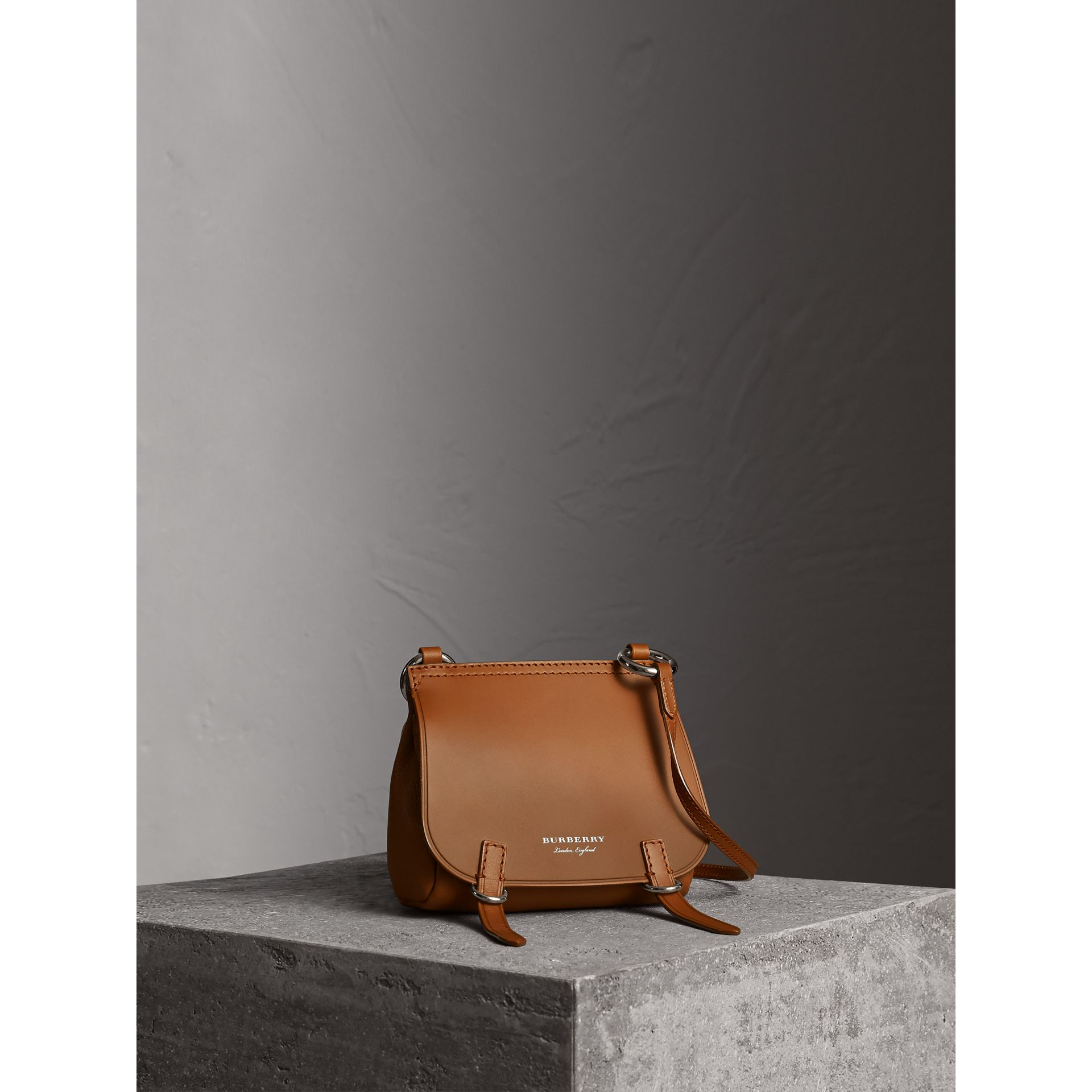 The Baby Bridle Bag in Leather in Tan - Women | Burberry - gallery image 1
