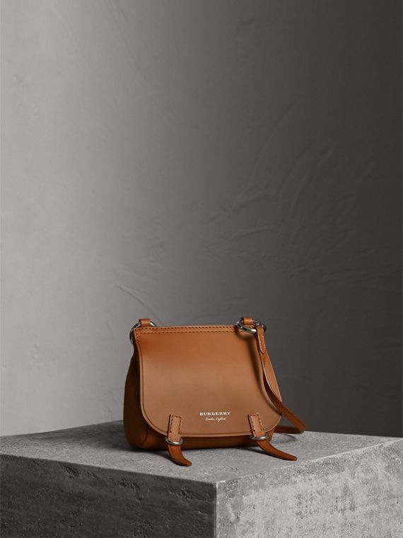 The Baby Bridle Bag in Leather in Tan - Women | Burberry