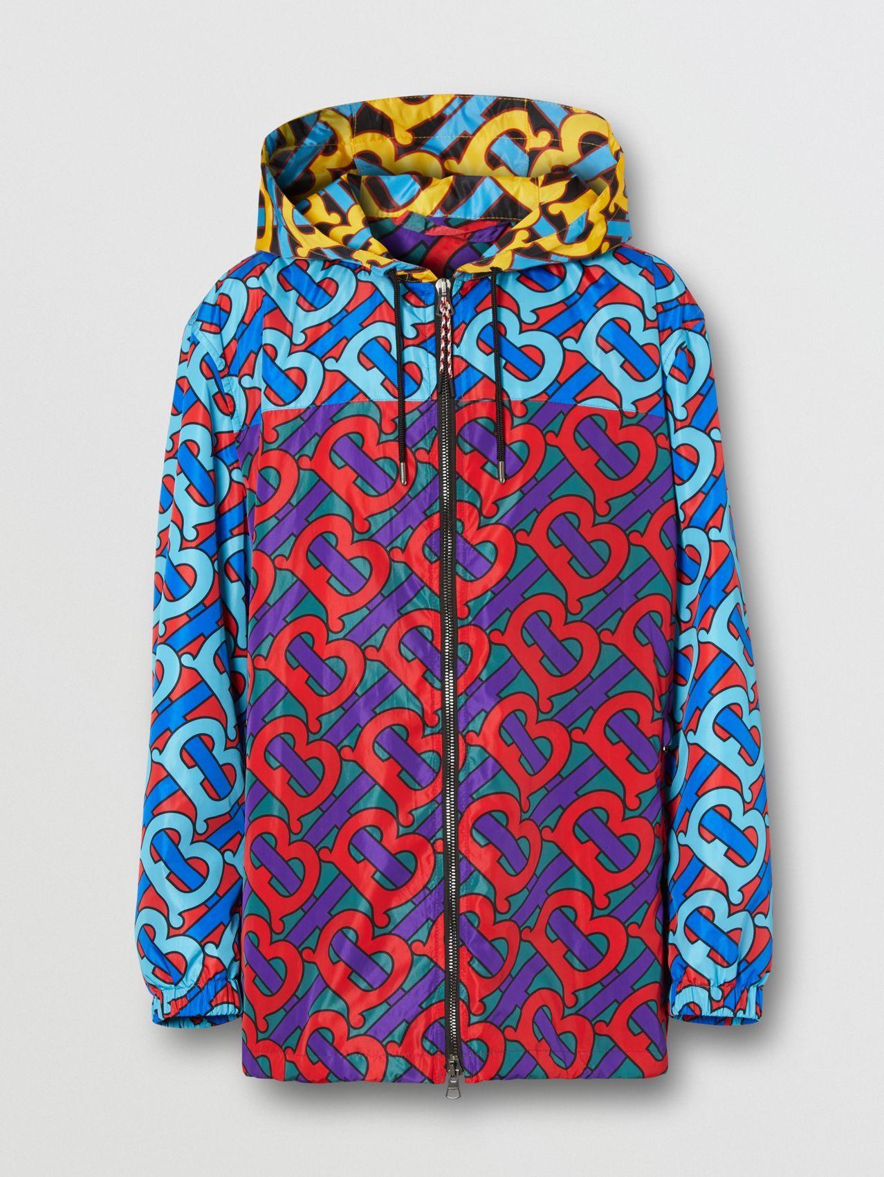 Monogram Print ECONYL® Hooded Jacket