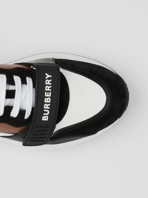 BURBERRY Leathers Leather, Suede and V