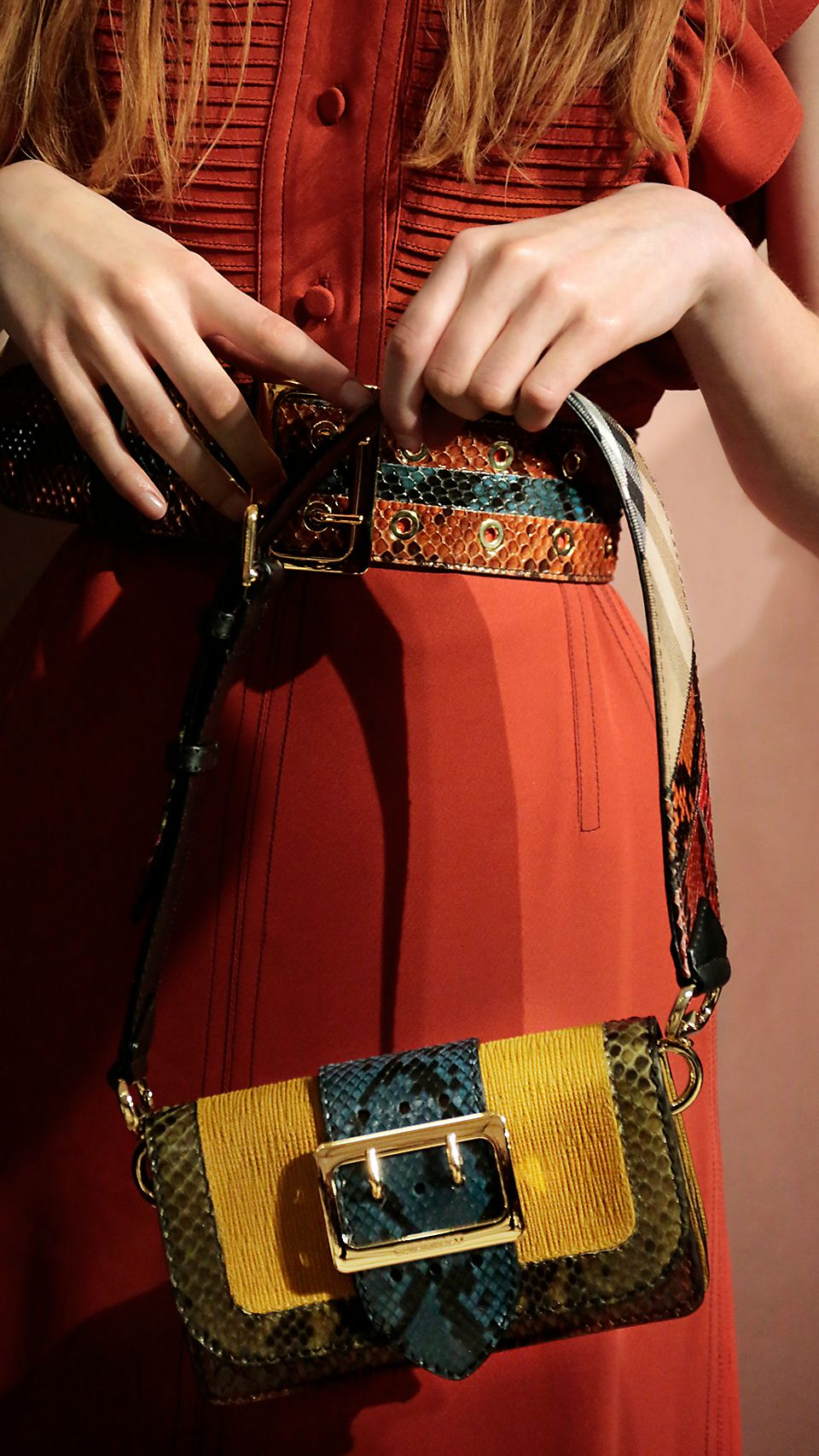 New in: The Patchwork  Our one-of-a-kind runway bag