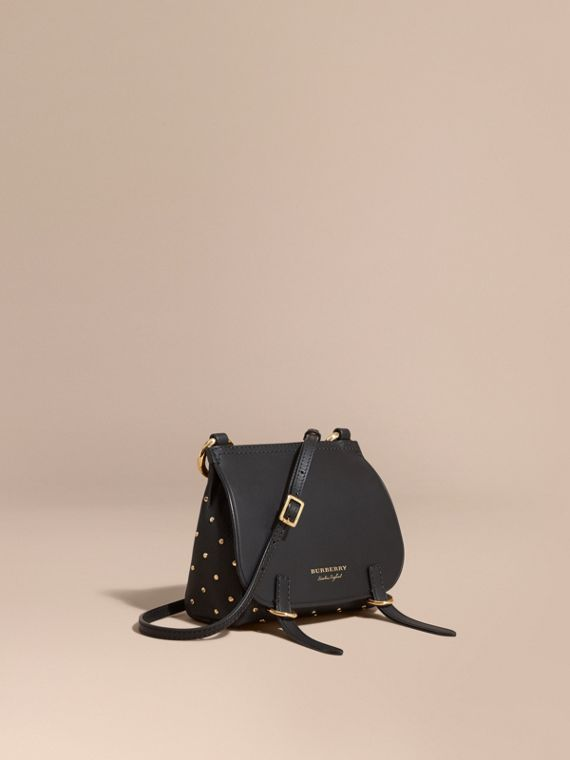The Baby Bridle Bag in Riveted Leather
