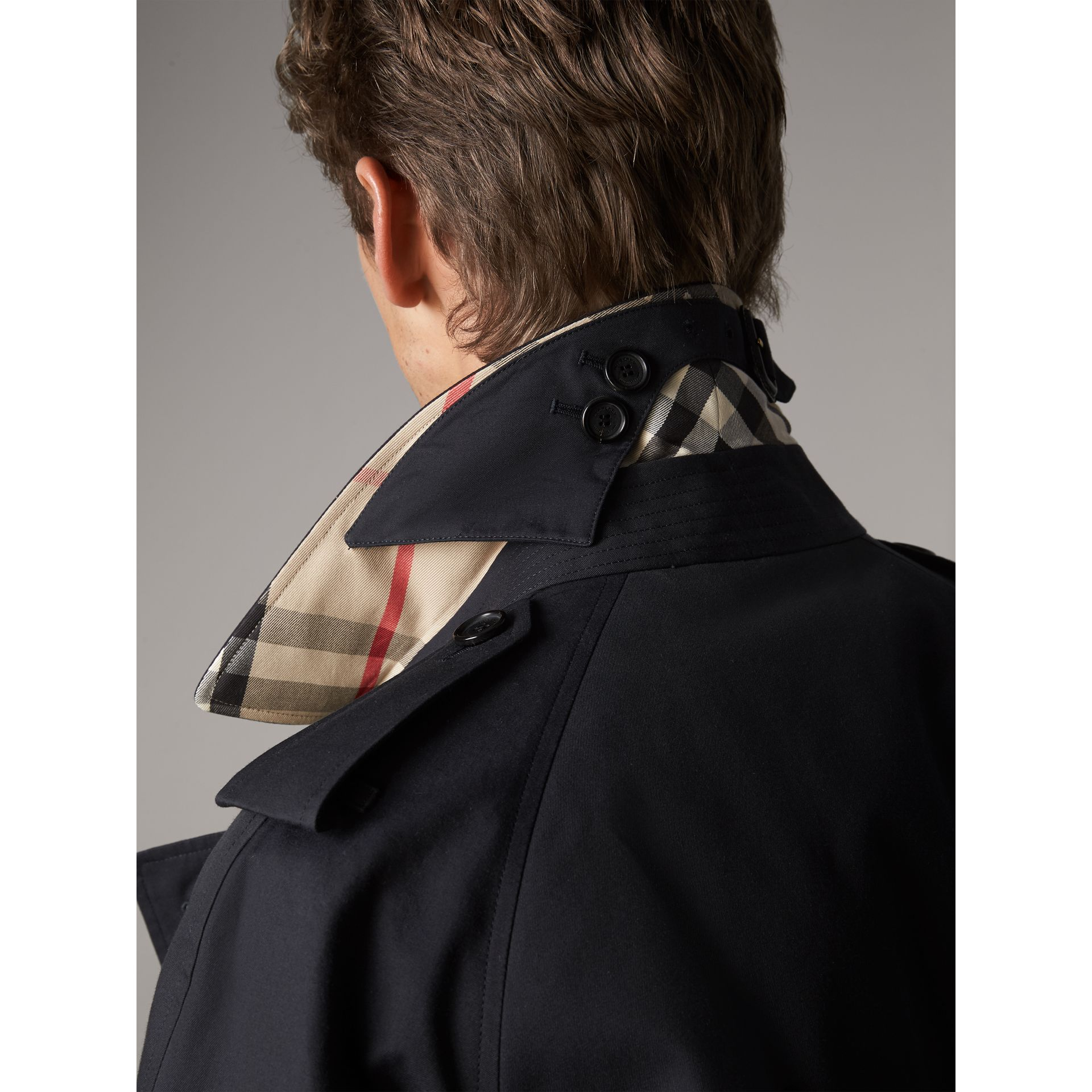 The Westminster – Extra-long Trench Coat in Navy - Men | Burberry - gallery image 2