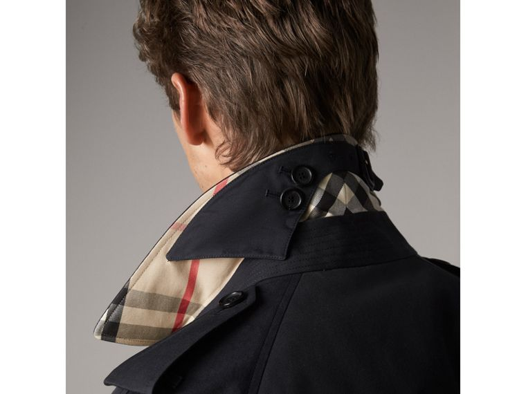 The Westminster - Trench coat extralongo (Azul Marinho) - Homens | Burberry - cell image 1