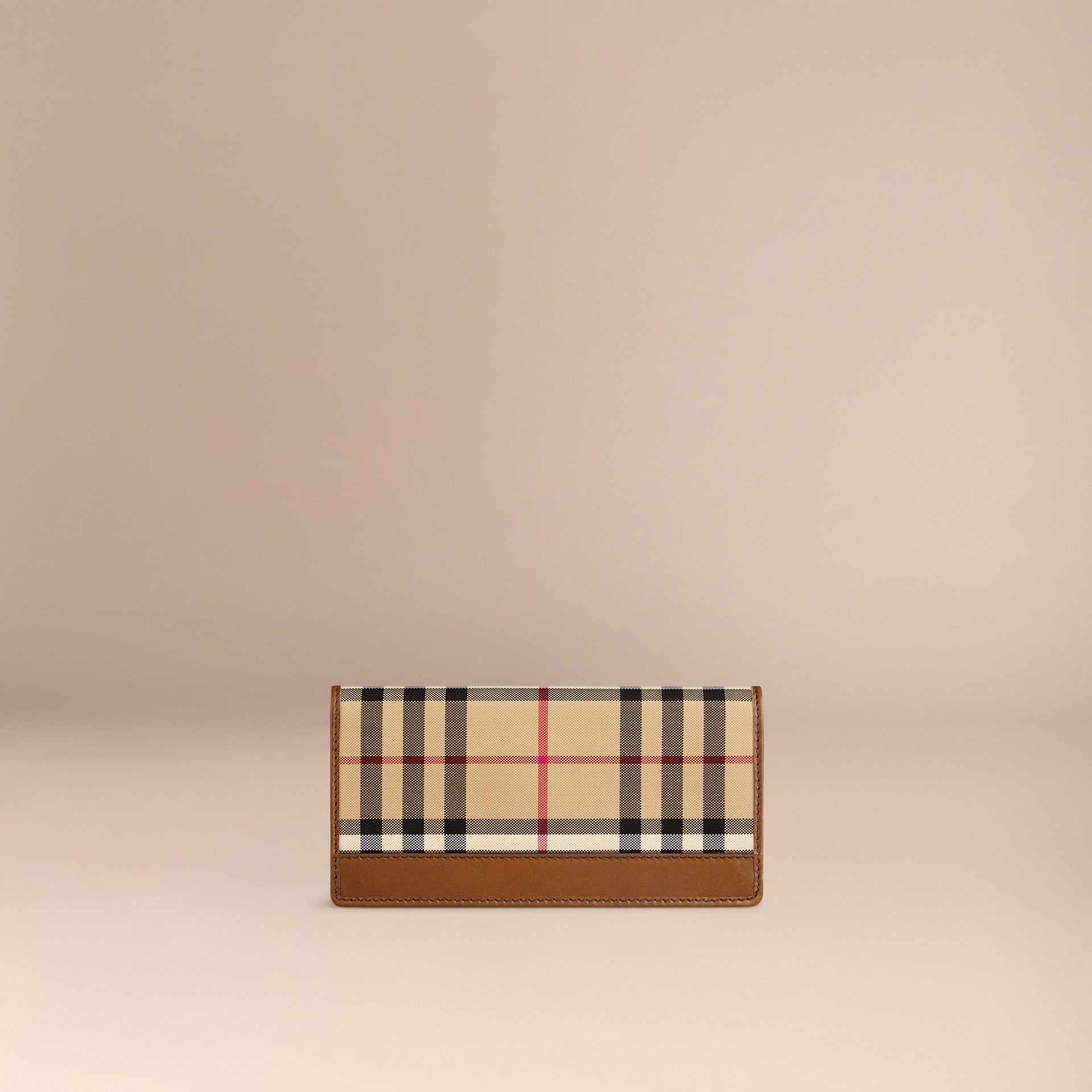 Horseferry Check Continental Wallet in Tan - Men | Burberry Hong Kong - gallery image 3