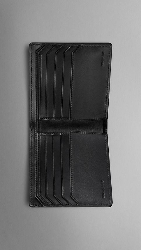 Black Alligator Folding Wallet - Image 3