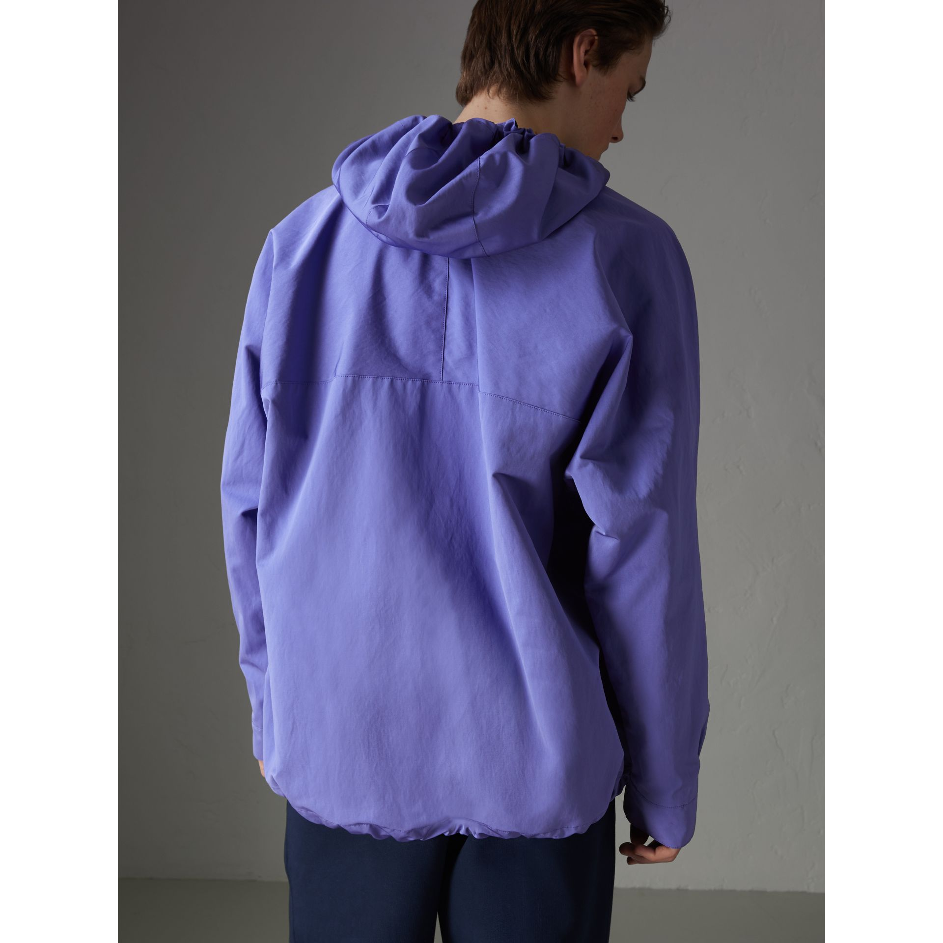 Reissued Hooded Anorak in Purple - Men | Burberry United States - gallery image 2