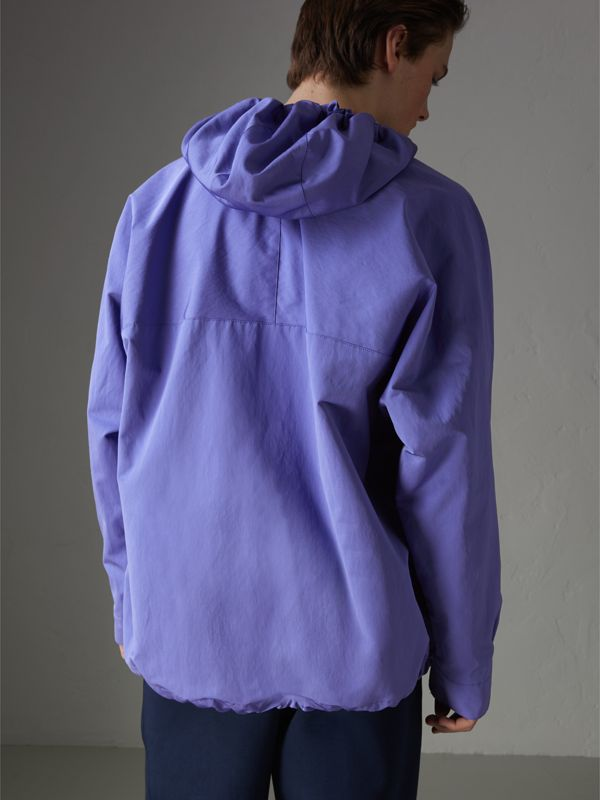 Reissued Hooded Anorak in Purple - Men | Burberry United States - cell image 2