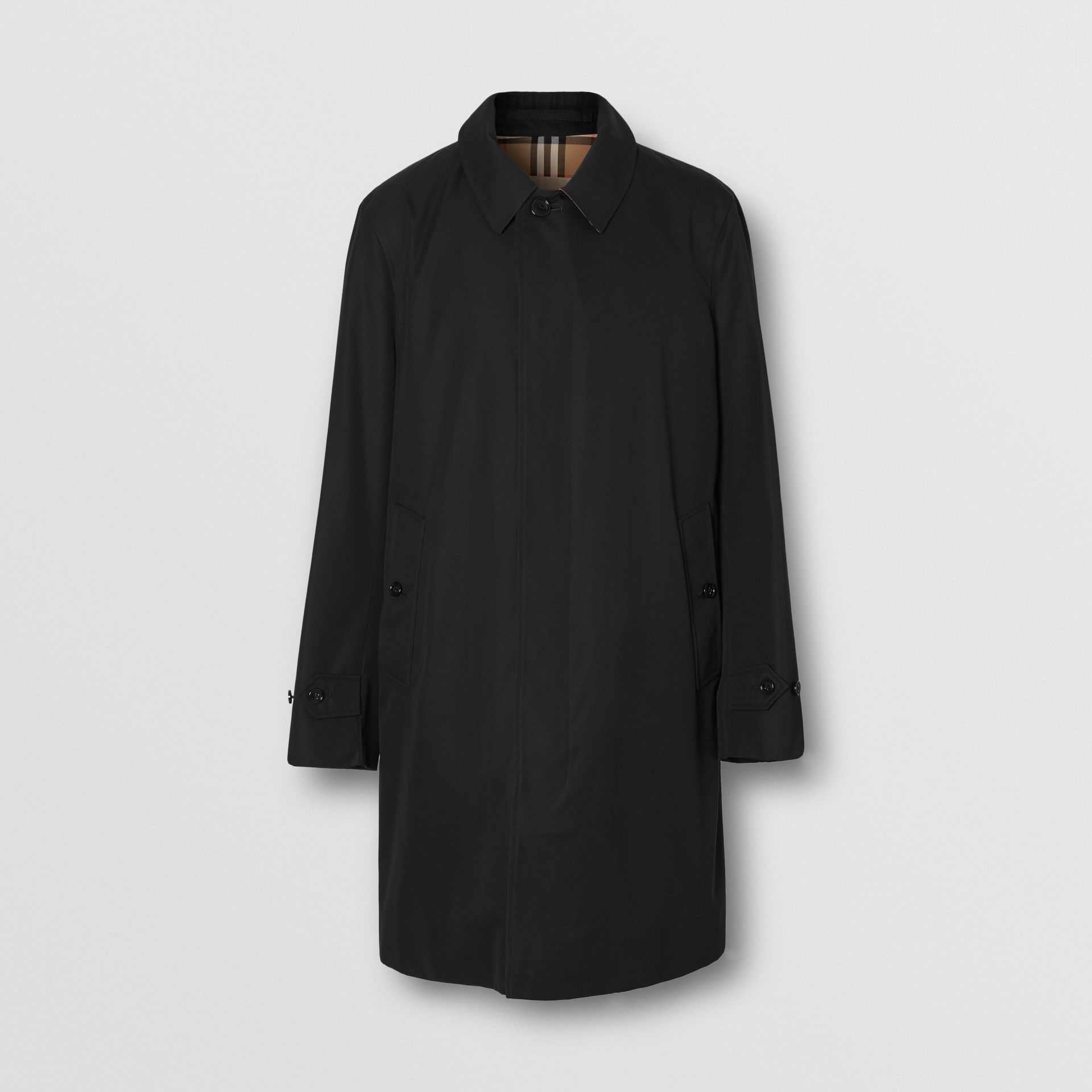 The Pimlico Car Coat in Black - Men | Burberry - gallery image 3