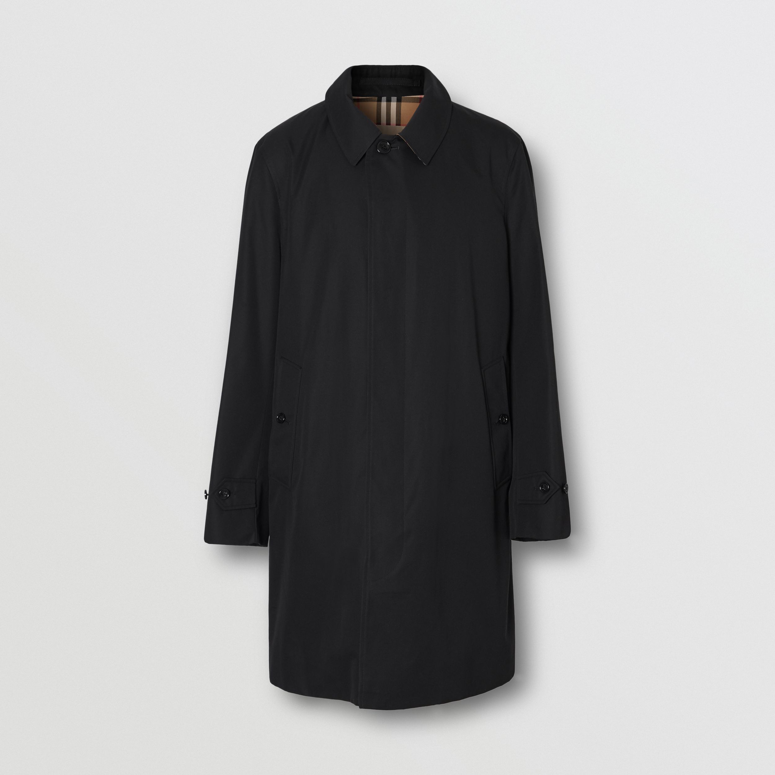 The Pimlico Heritage Car Coat in Black - Men | Burberry - 4